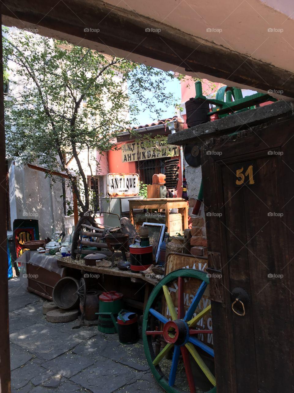 Antique store