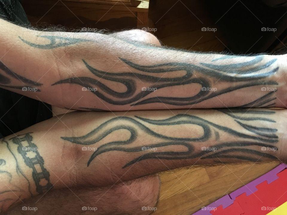 Tattoo arm art