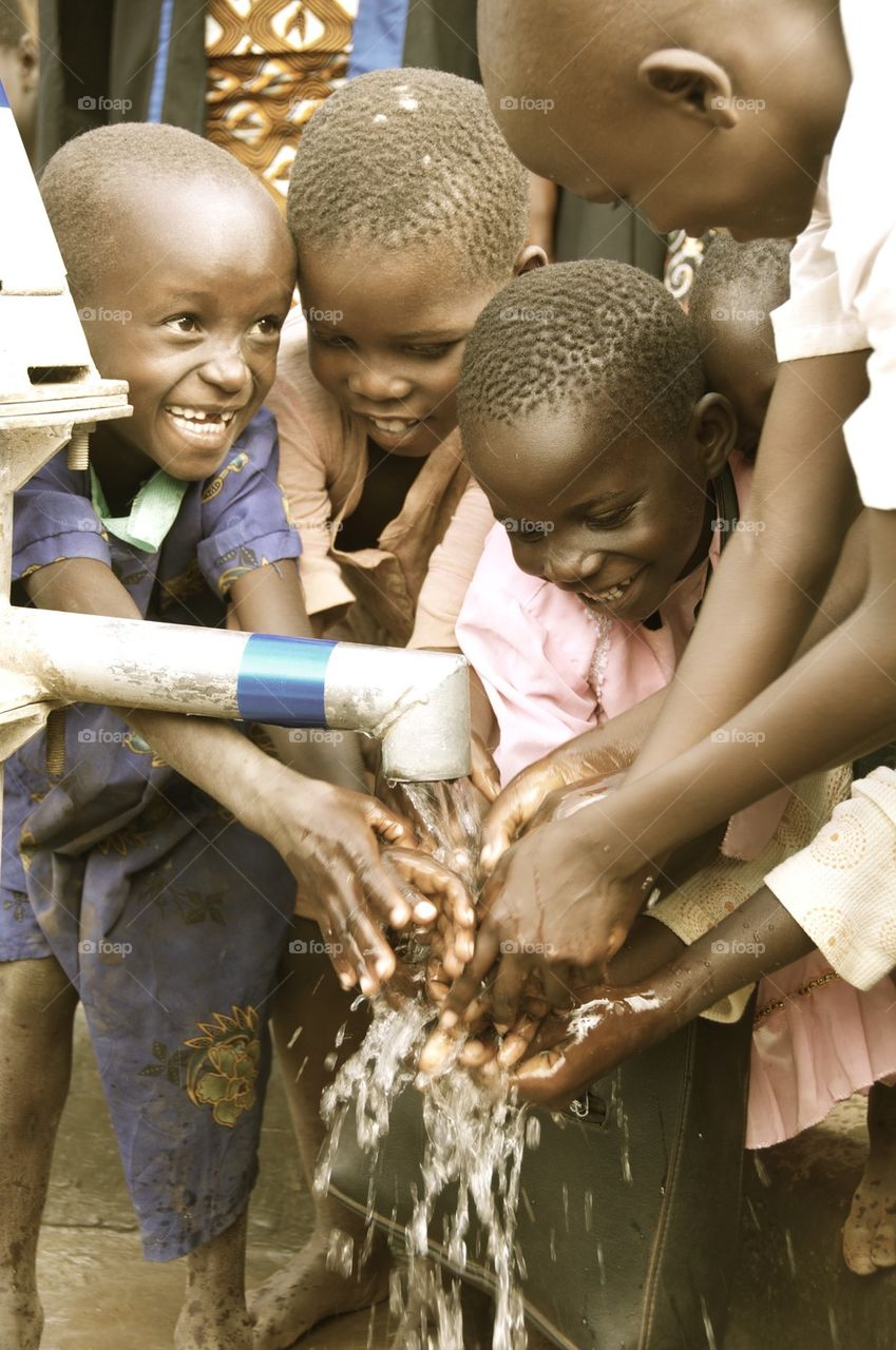 African borehole