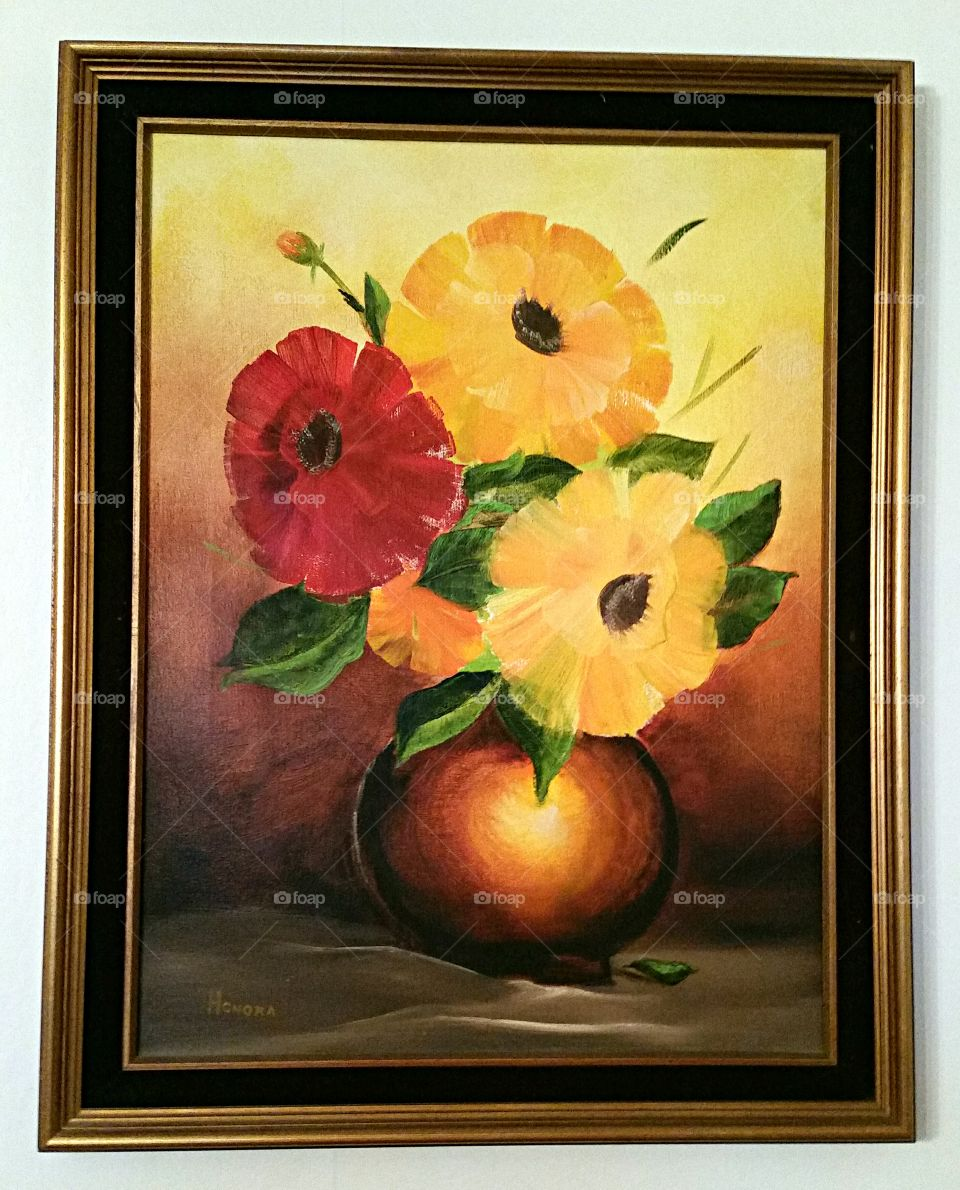 Colorful Floral Still Life