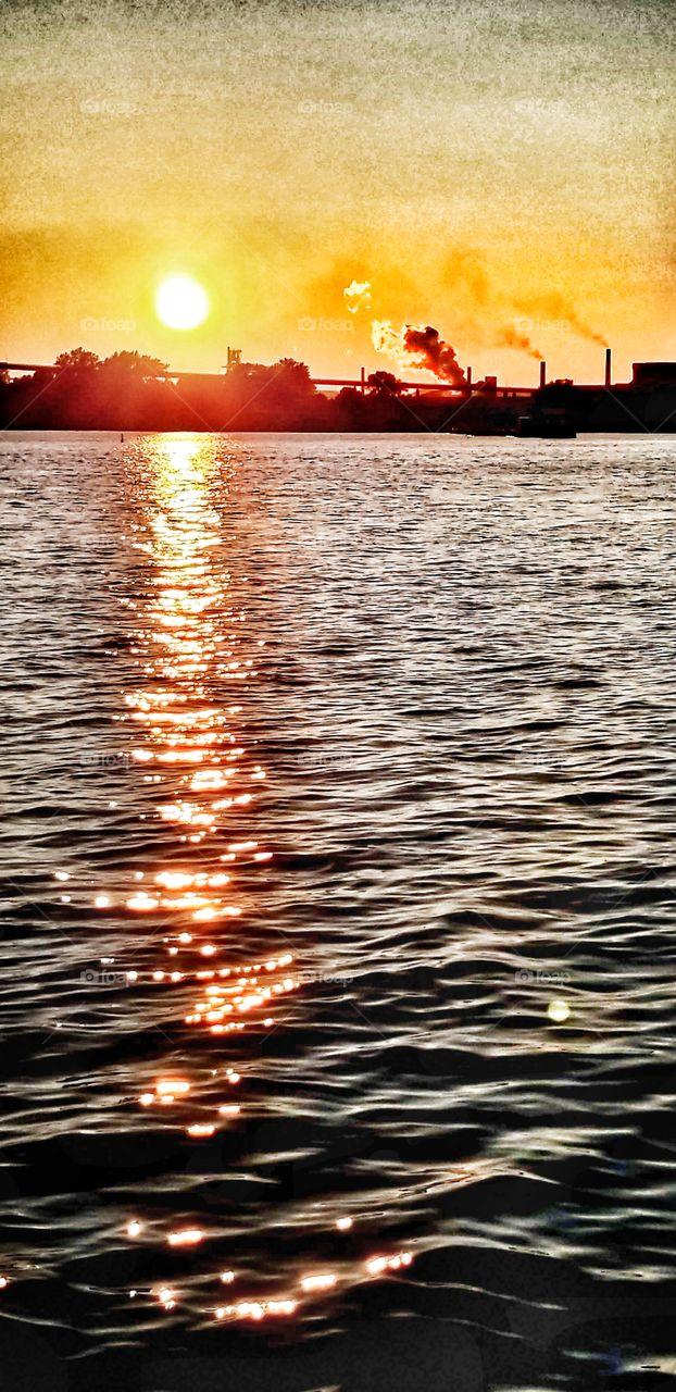 Sault St. Marie sunset