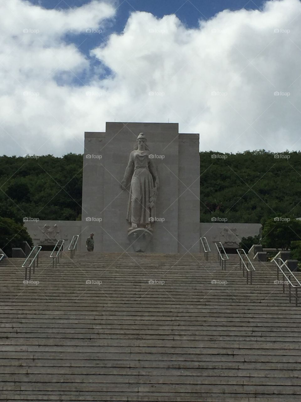 National Memorial Cemetery of the Pacific. Honolulu, HA