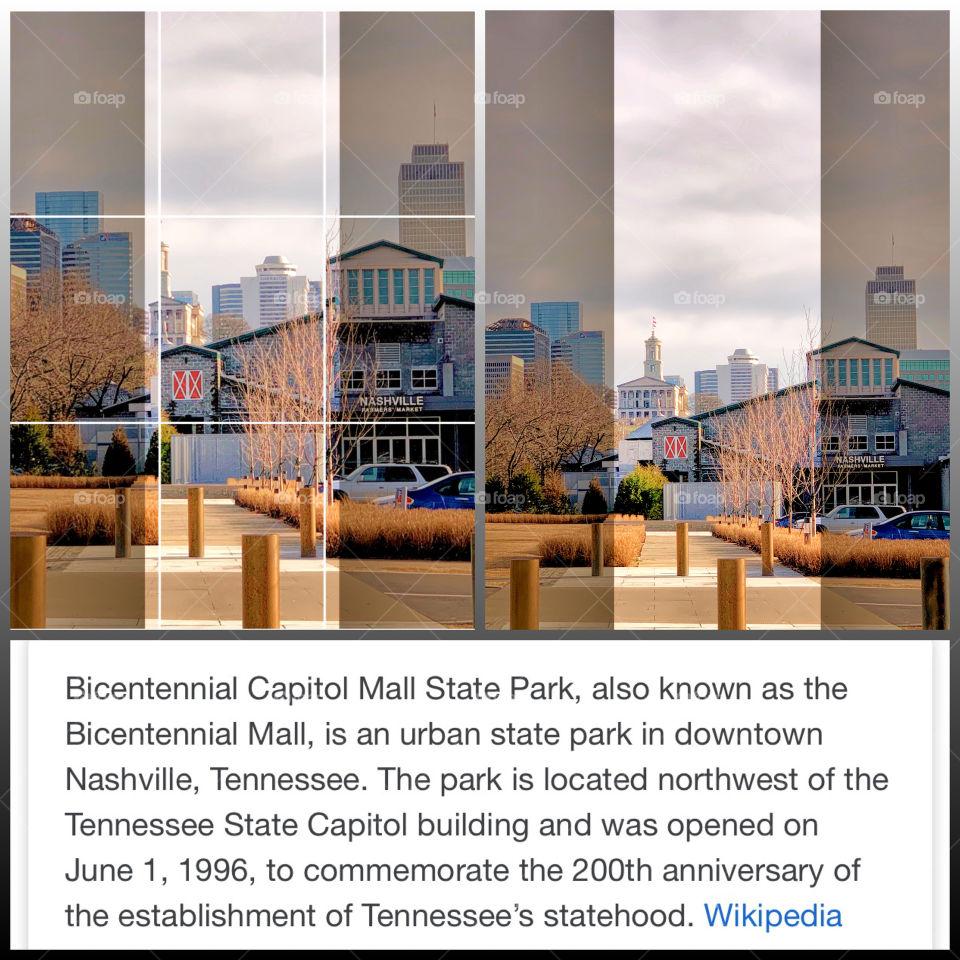 Bicentennial Capitol Mall State Park,Nashville Tennessee