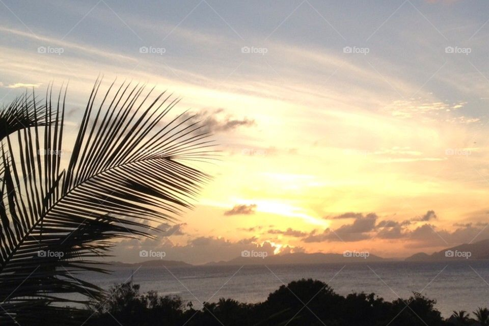 Virgin Gorda Sunset