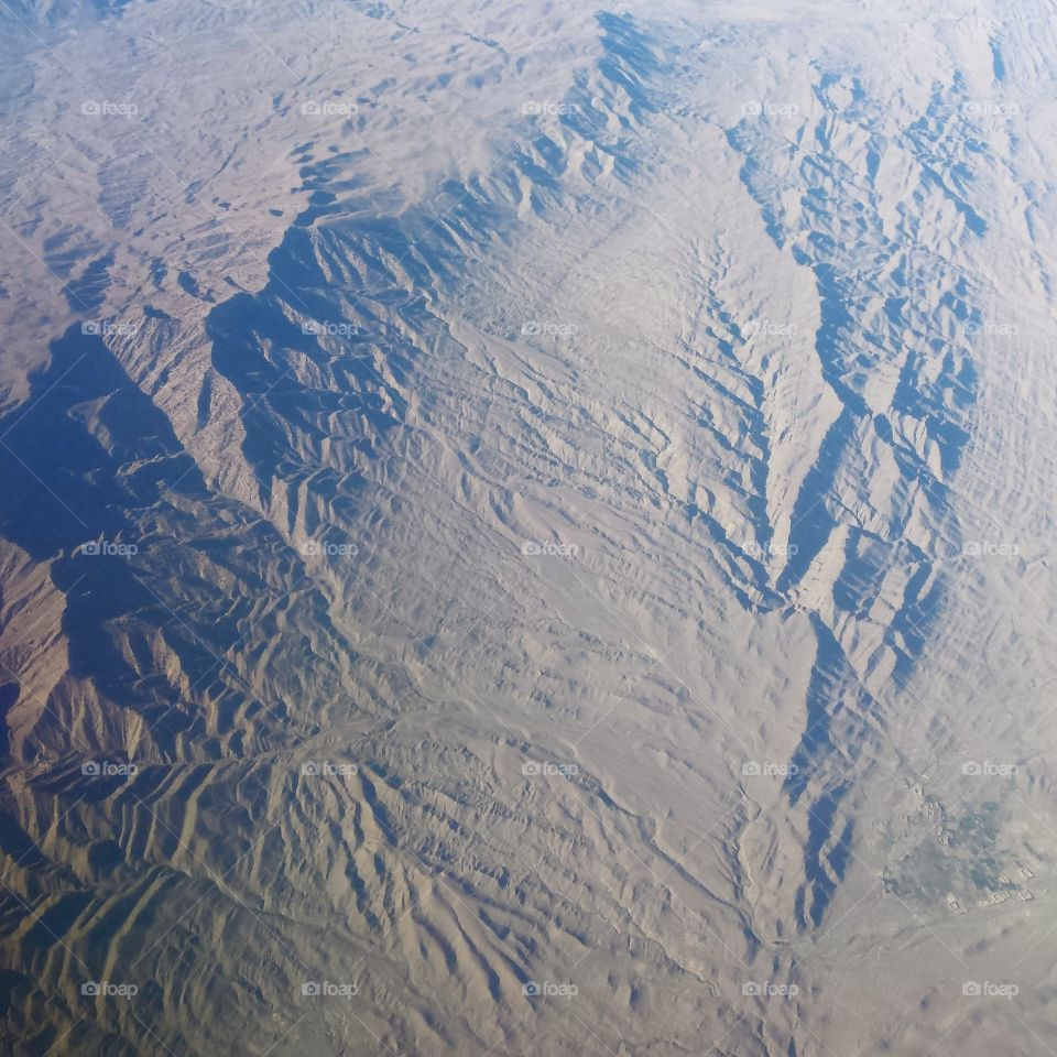 beauty of Afghanistan I. on the early morning after sunrise
