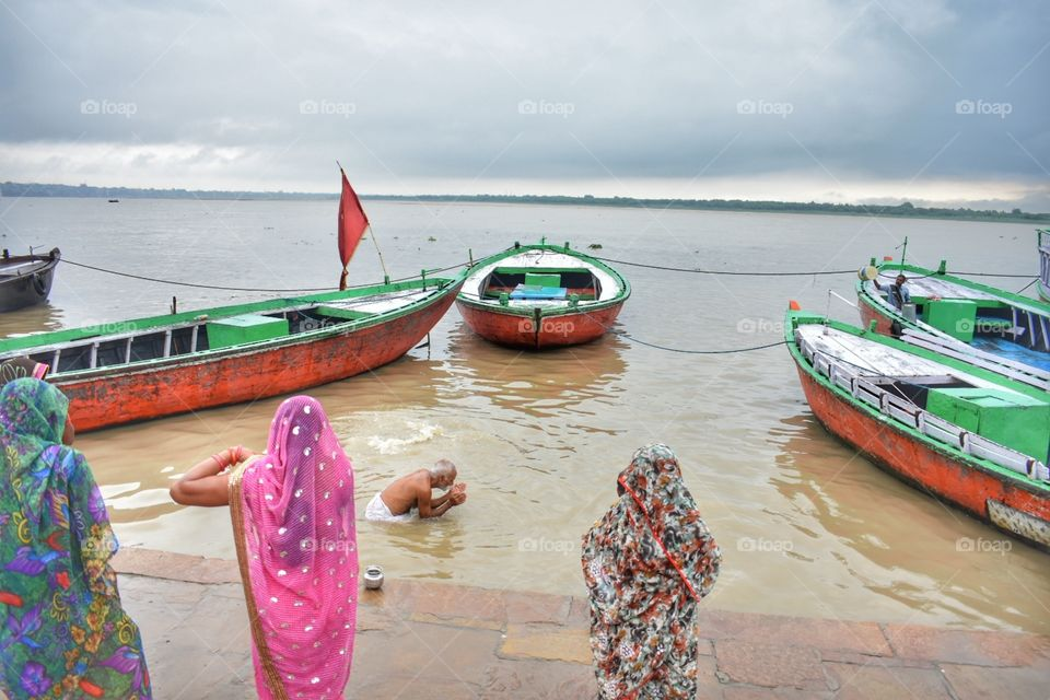 varanasi india, holy ganga, travel photography