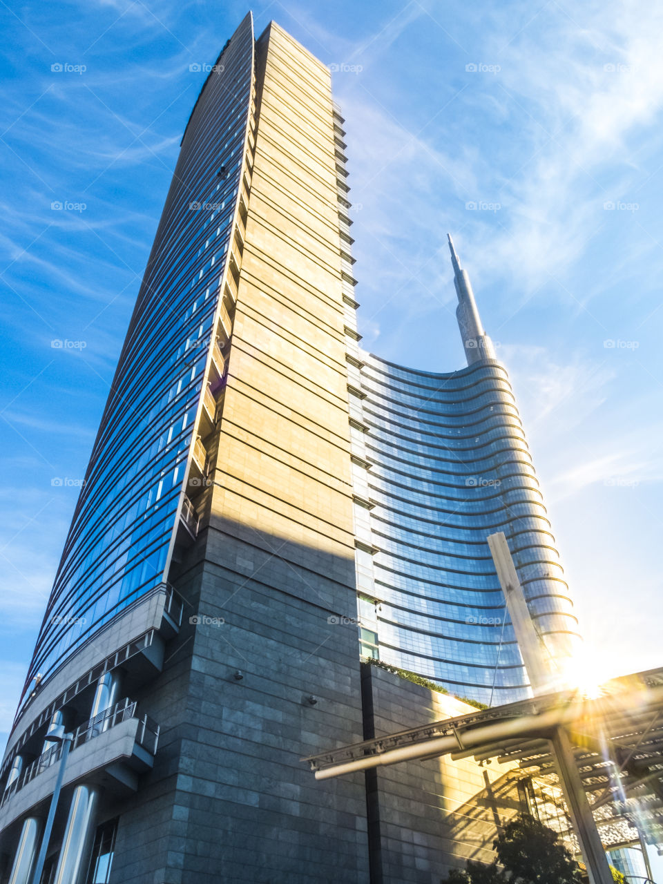 The UniCredit Tower (Torre UniCredit) is a skyscraper in Milan, Italy. At 231 metres (758 ft), it is the tallest building in Italy.
