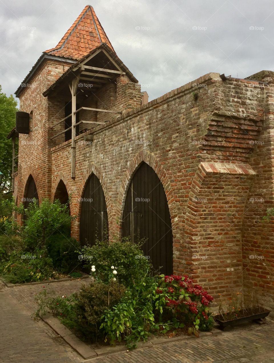 Zutphen city wall