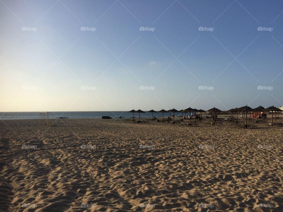 Beach at Kap Verde