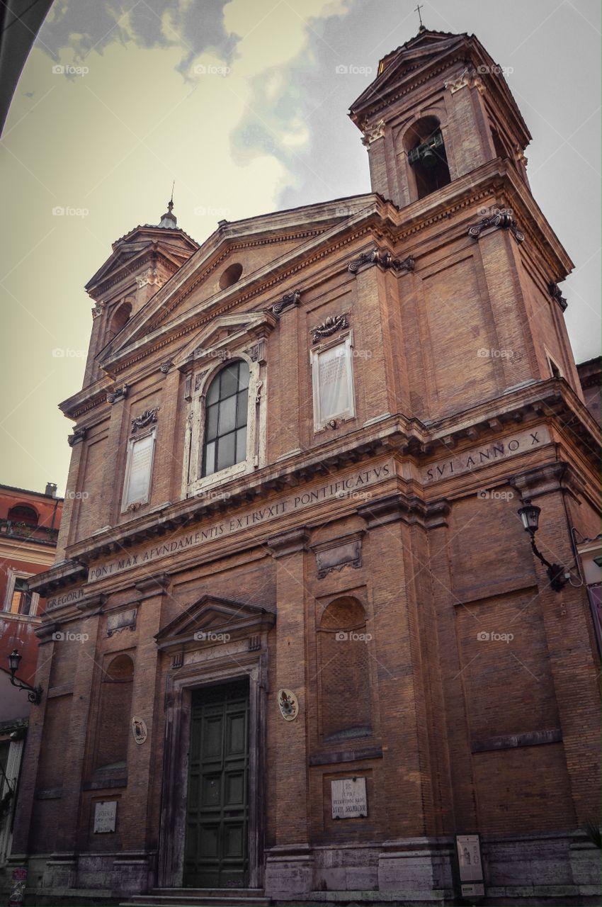 Iglesia de San Atanasio (Roma - Italy)