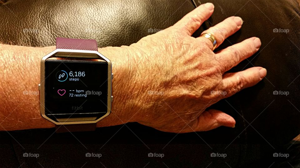 Aging Hands With Modern Technology!