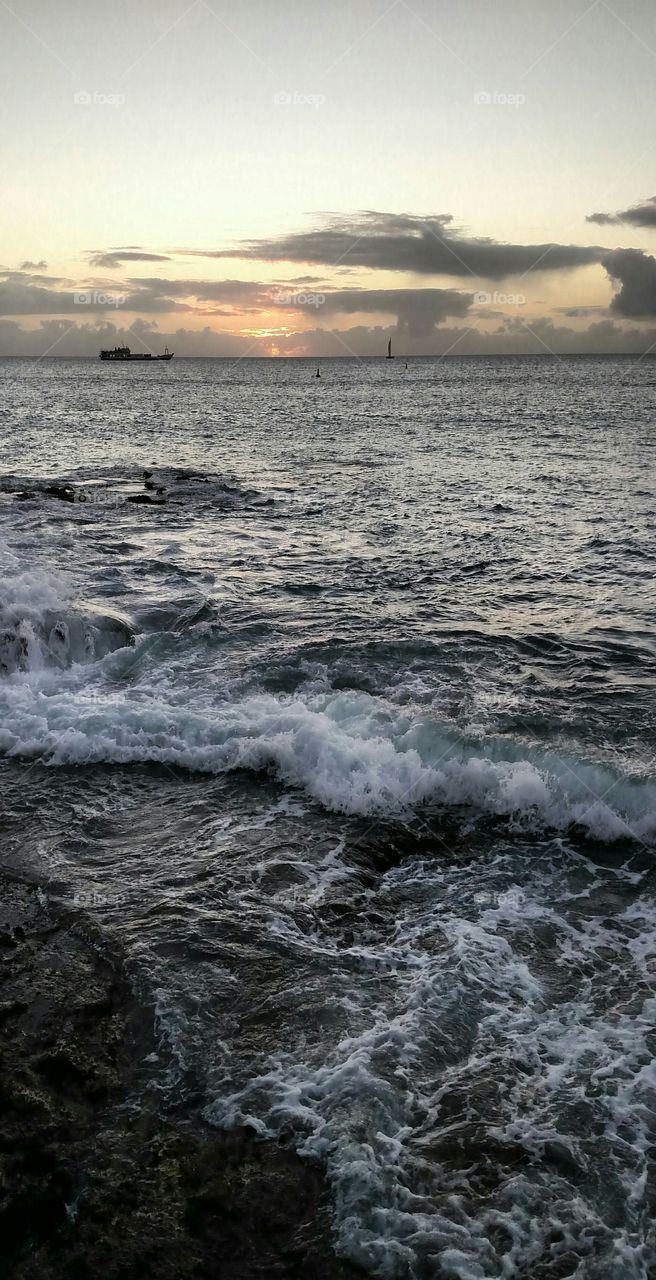 Water, Ocean, Sea, Wave, Storm