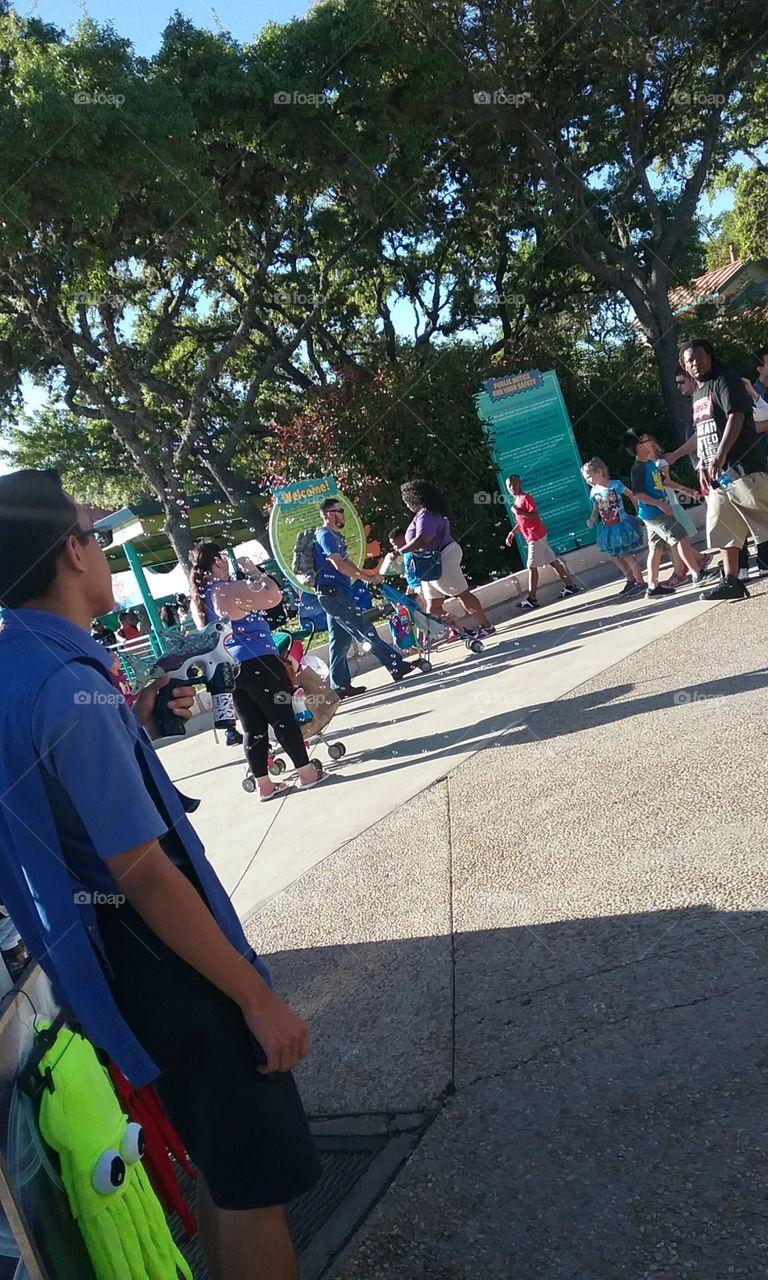 Theme Park bubble shooter