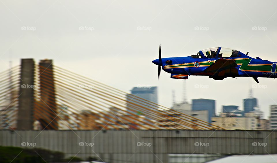 My hobby is shooting aerial demonstration shows.