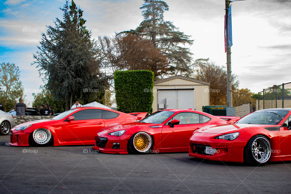 Red lineup