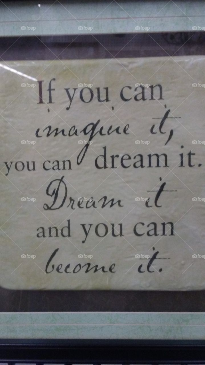 If You Can Dream It Sign