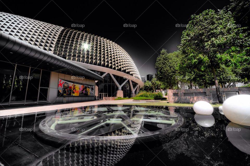 Esplanade reflection