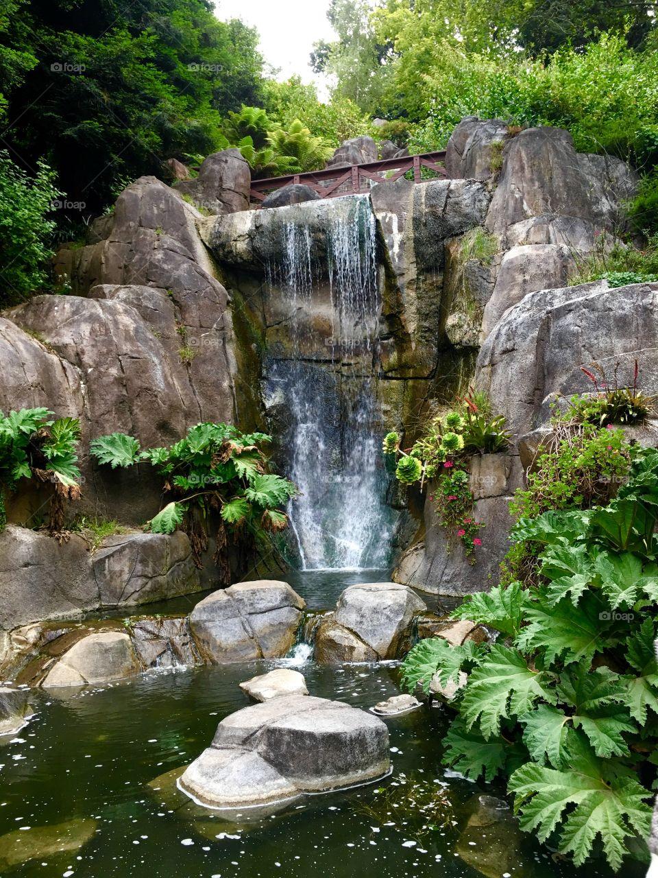 Waterfall in Golden Gate Park