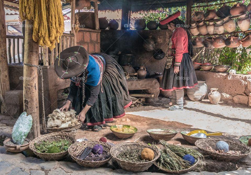 Peruvian natives