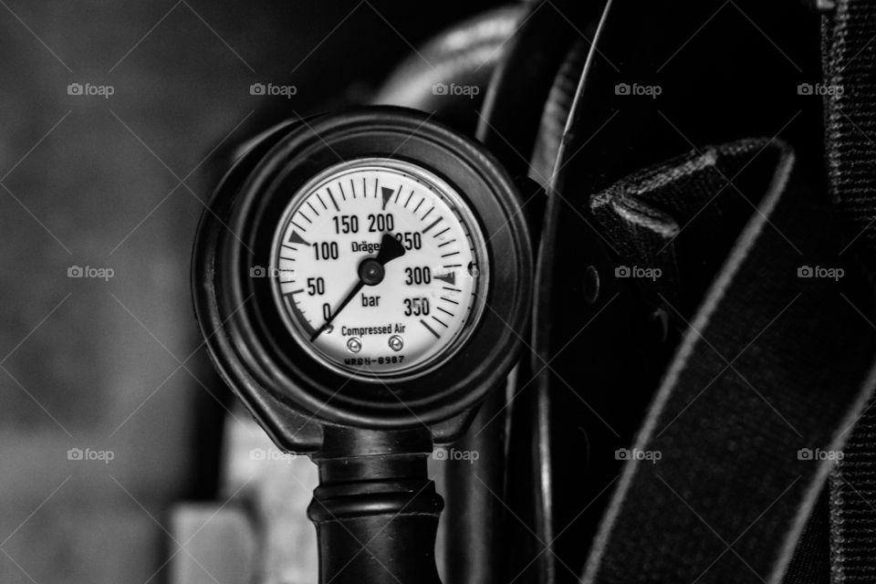 Close-up manometer