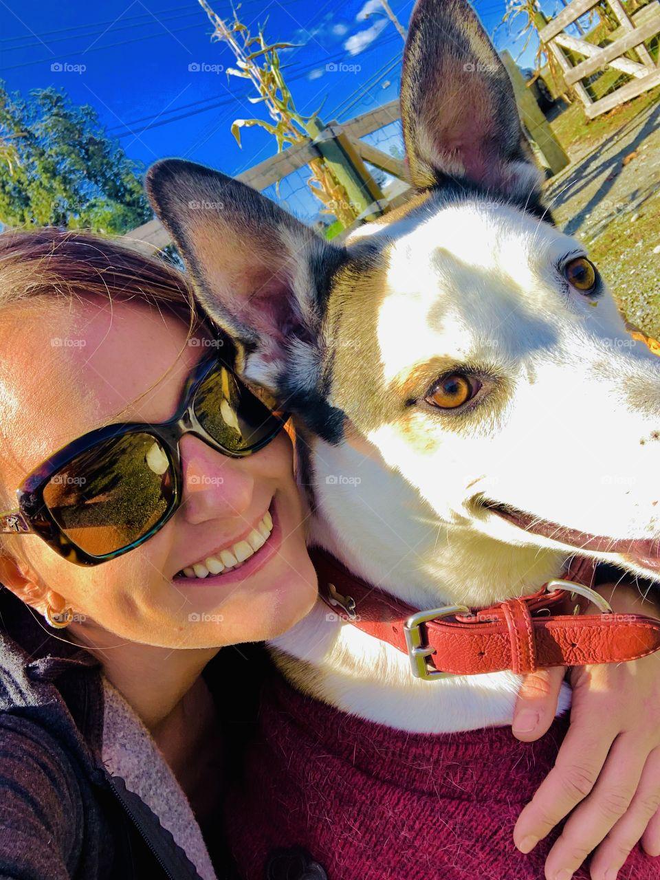 Selfie time with Effie