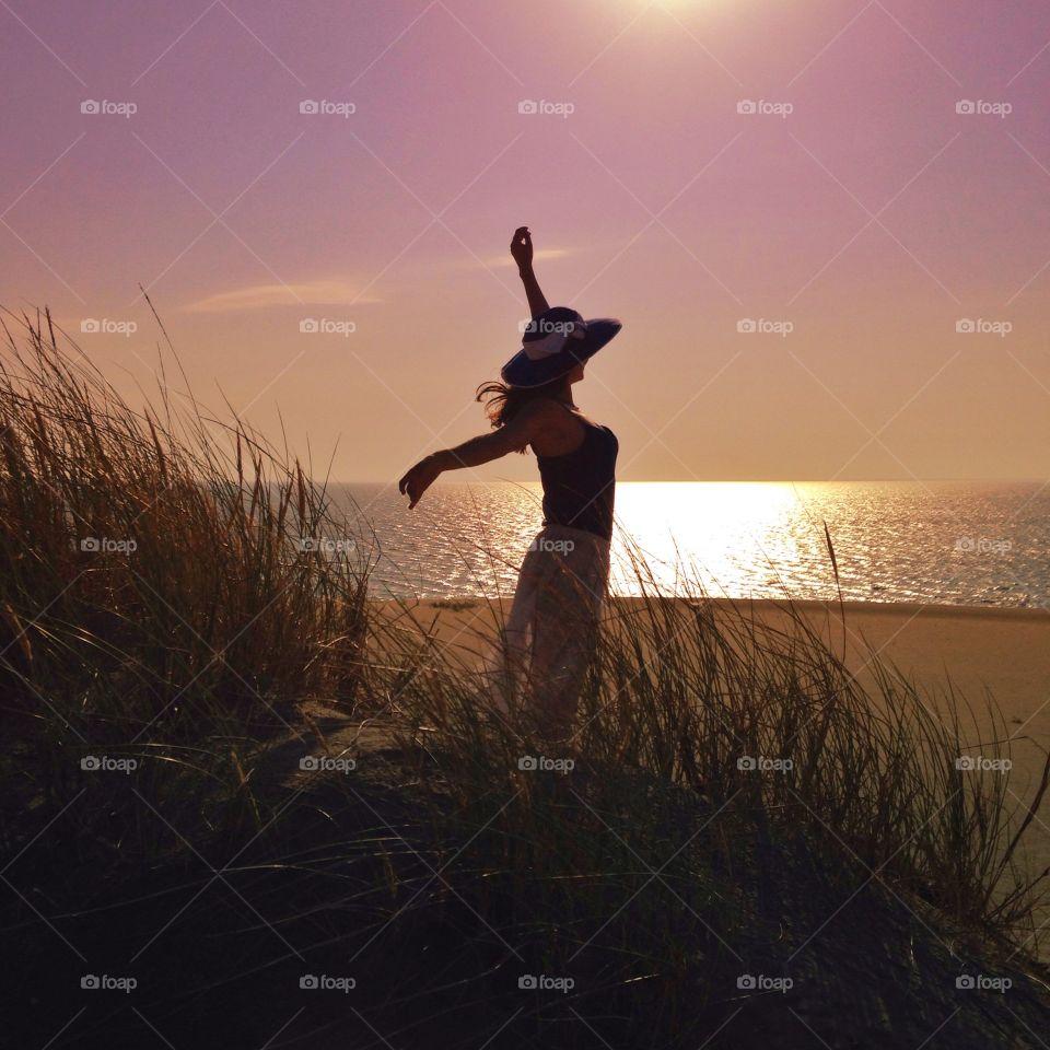 Waltz with sunrise