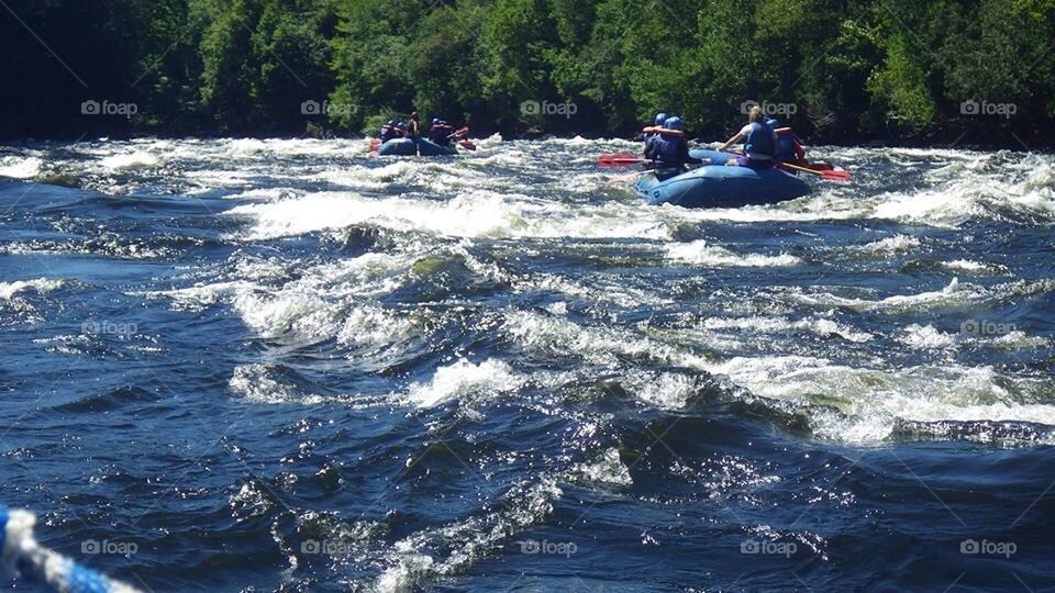Rafting Kennebec River | kennebec river, robbie.martin.796, the forks, white water rafting