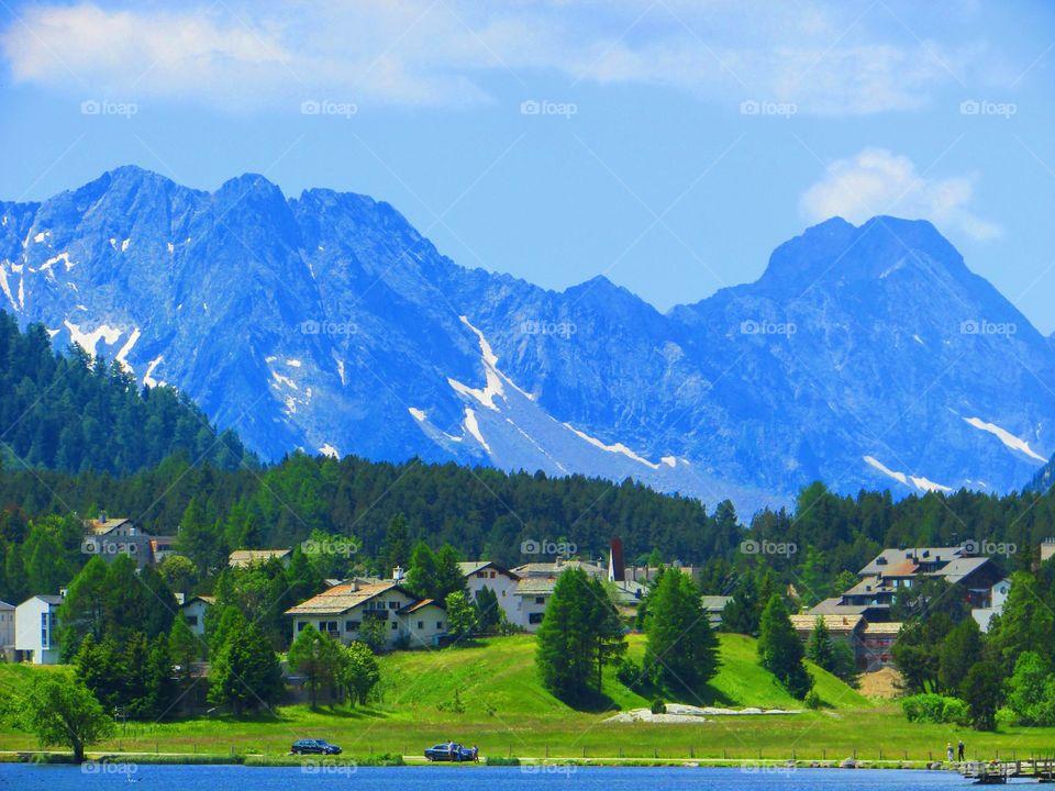 Alps - St Moritz Swiss