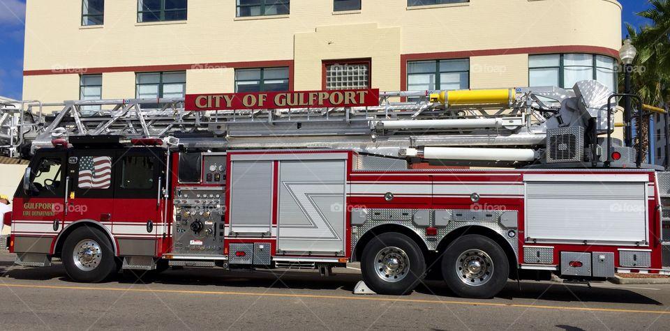 Gulfport Fire Truck