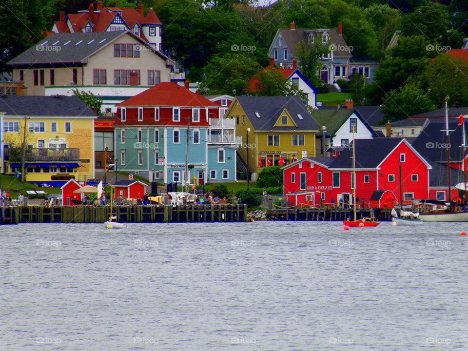 Village of Lunenburg Nova Scotia