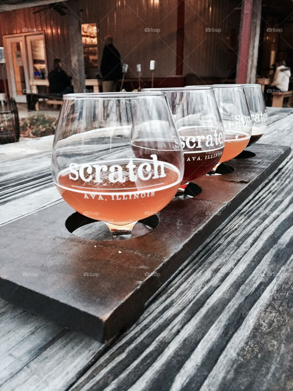 Scratch Brewing Flight