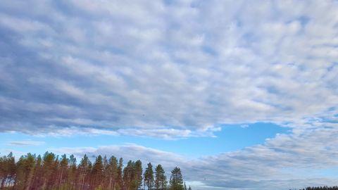 Beautiful Sky Sweden