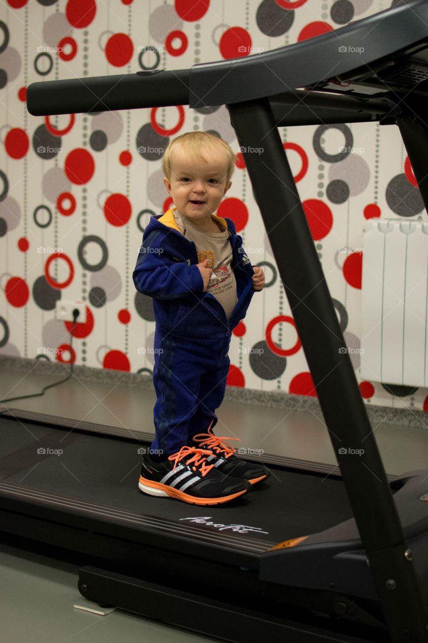 sport! sport! sport!. my son loves running 😄