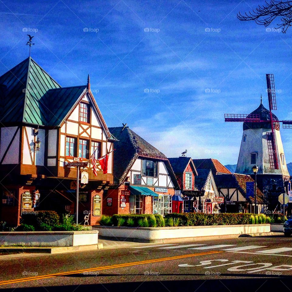 Danish village, Solvang, Los Angeles