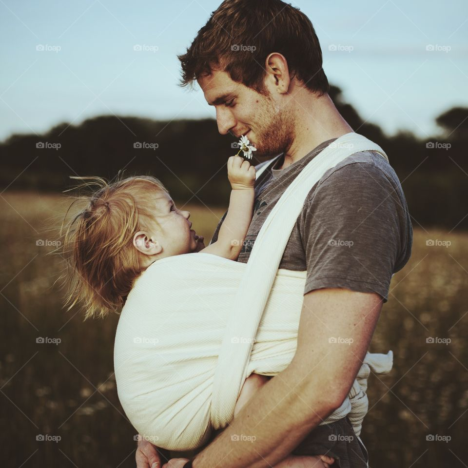 Connection. A father's love for his daughter