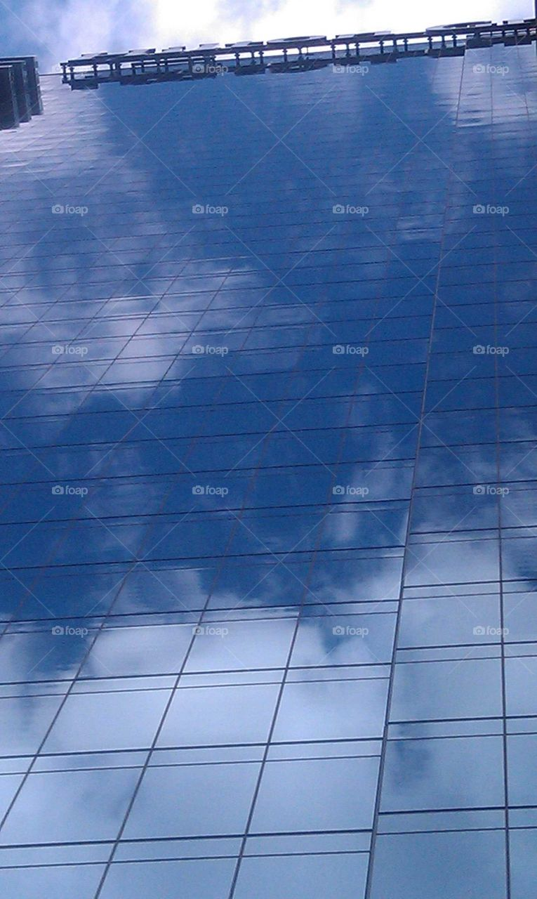 Cloud and Sky Reflections