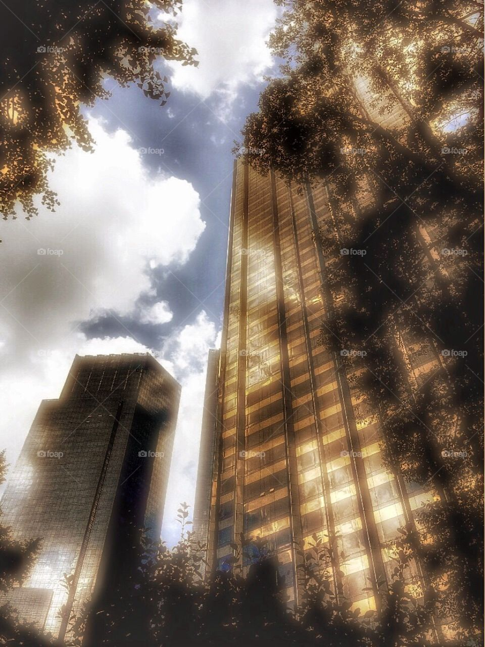 Outdoors/Street Photography, Trump International Hotel & Tower and Time Warner Building, Manhattan, New York City. Instagram,@PennyPeronto