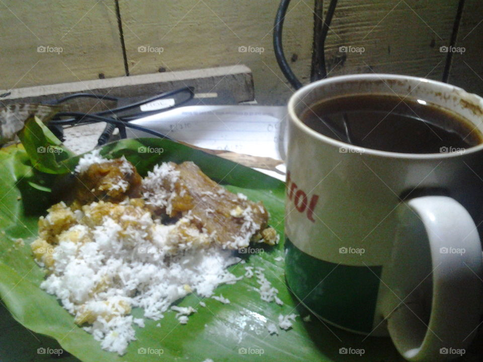 Thiwul, Gemblong And Coffein