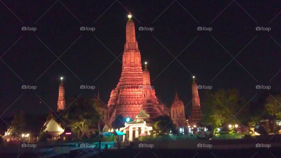 Arun Temple at Thailand.