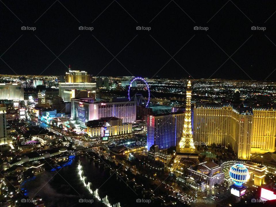 Lighting up Vegas