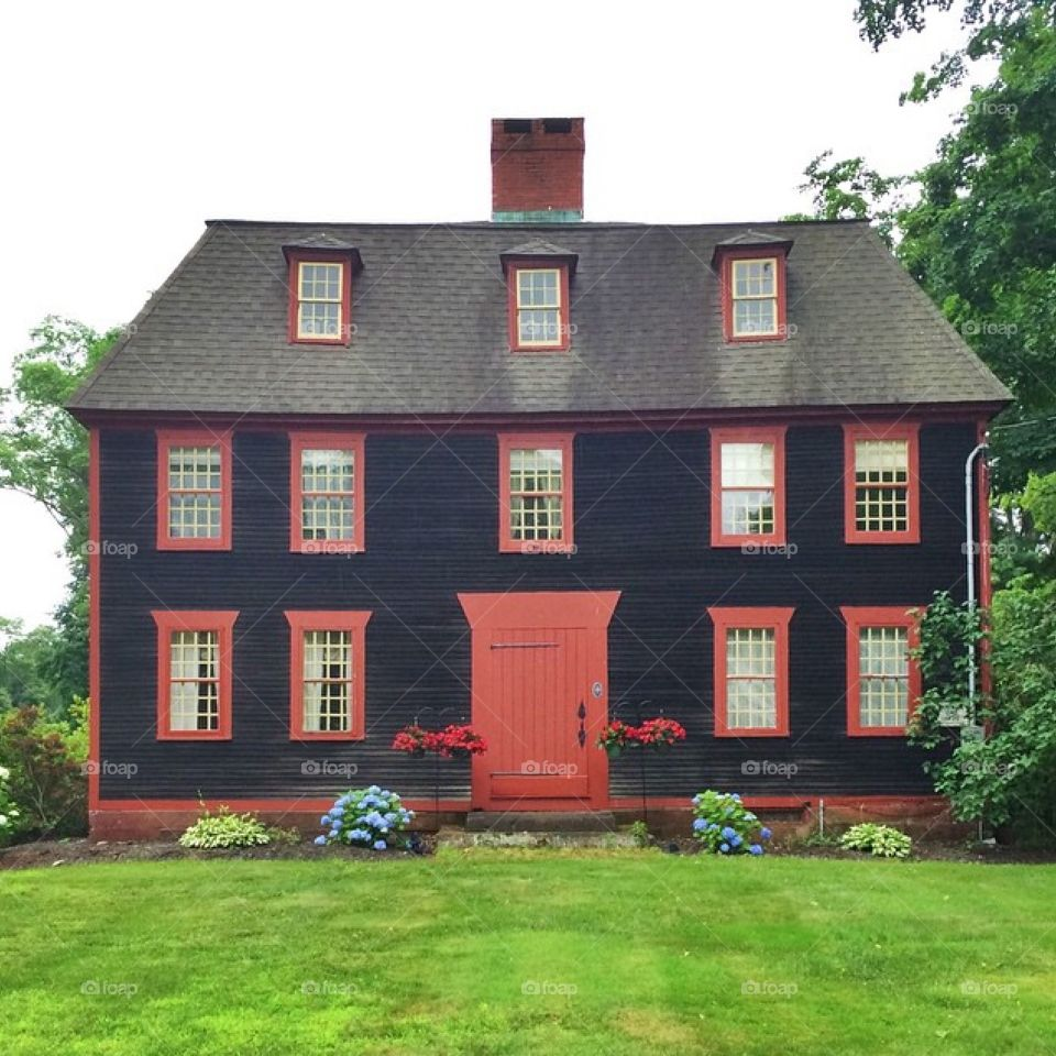 Colonial New England Home
