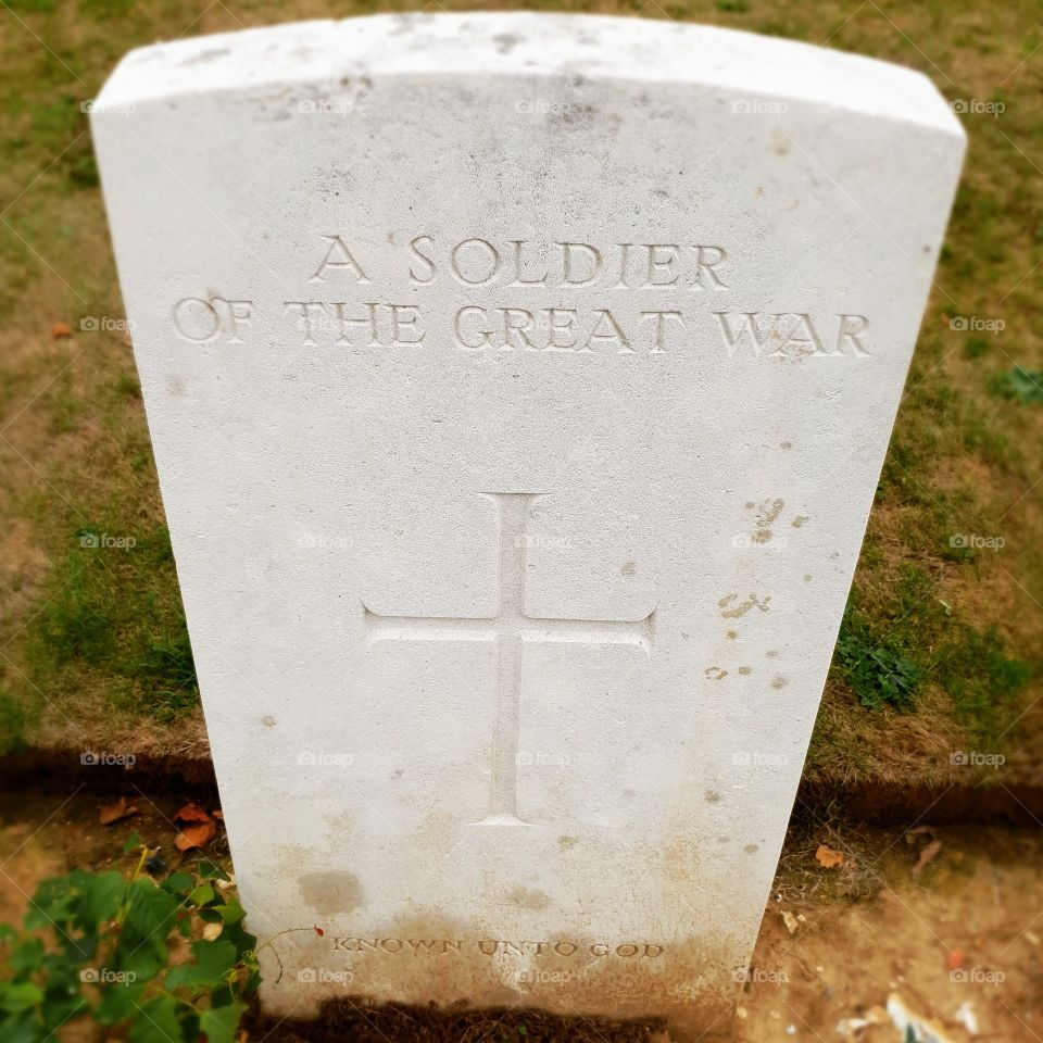 A soldier of the great war