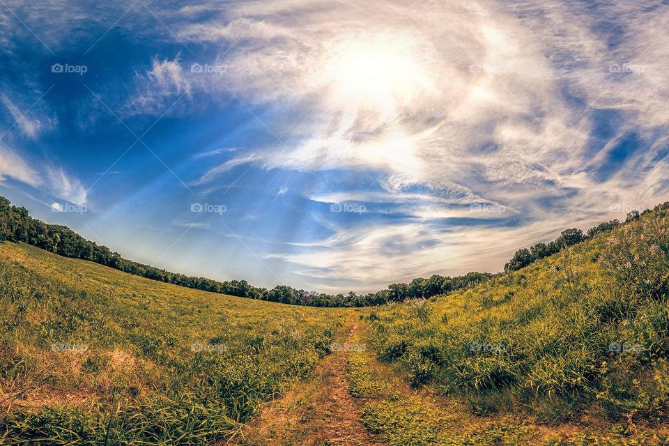 Sloped Nature Trail