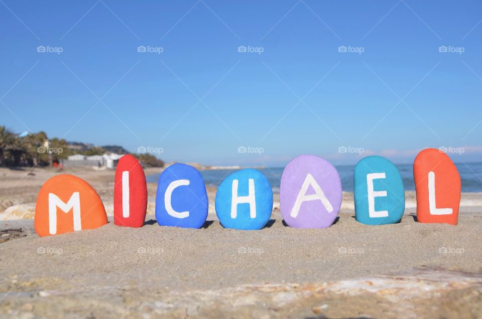 Foap michael baby boy name meaning gift of god stock photo by michael baby boy name meaning gift of god negle Image collections