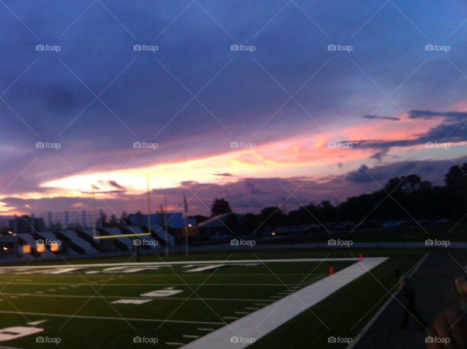 Summer Night Memoirs On the Football Field