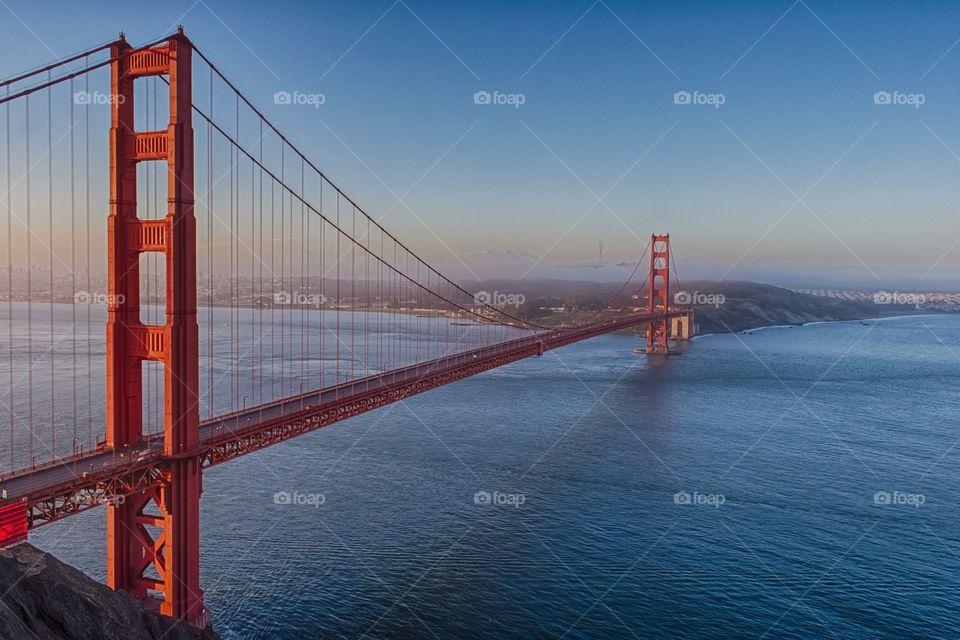 Golden Mornings. Golden Gate Bridge