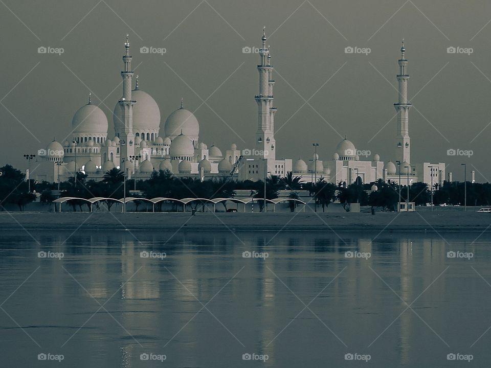 shaikh Zayed grand mosque, Abudhabi