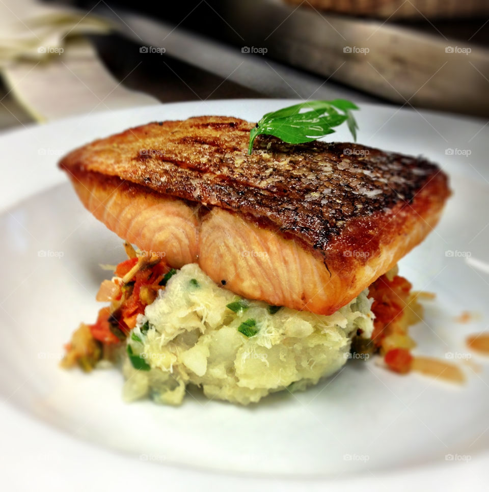 restaurant salmon chef mexican by zackbrownphoto