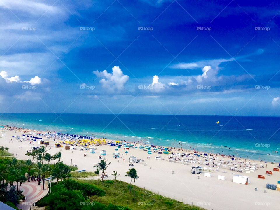 Miami beach at its best