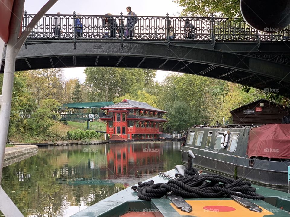 Little Venice Canal, London UK